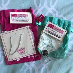 "Thirty-One ""Believe"" Necklace with Charm"
